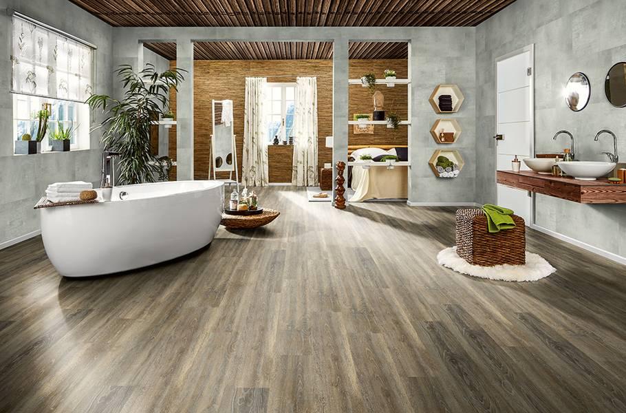 Designböden in Badezimmer, Küche und Co.